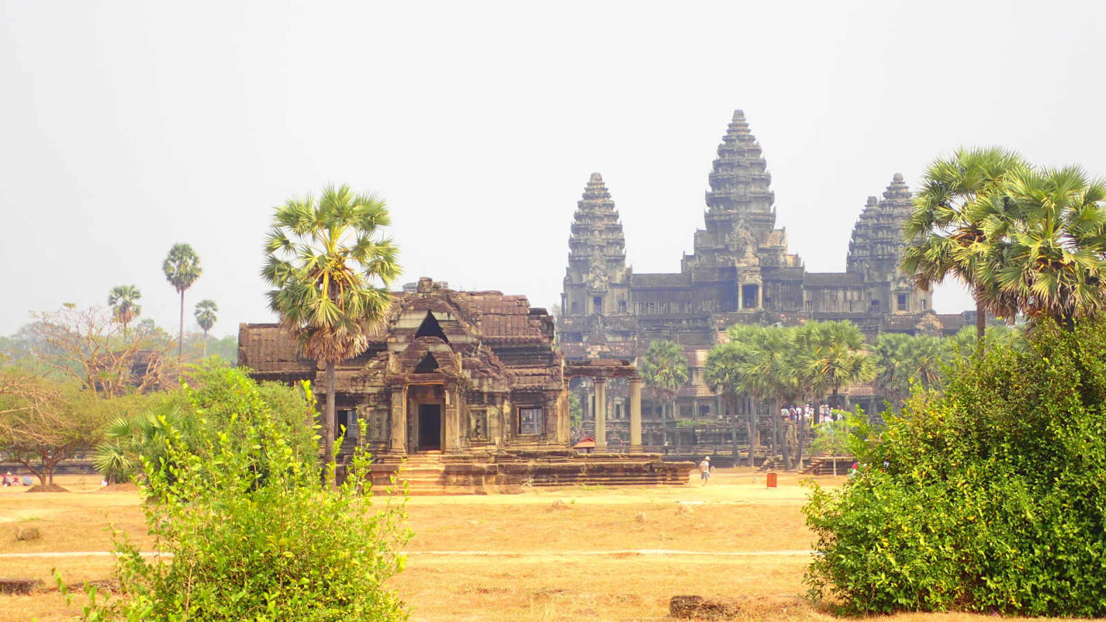 Angkor, vestiges d'une civilisation disparue.